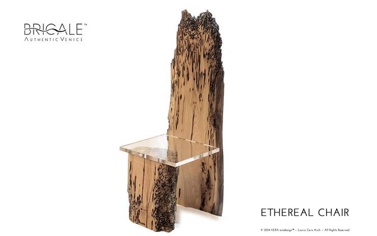 ETHEREAL CHAIR: Soggiorno in stile  di Arch. Laura Cera | KERA ecodesign