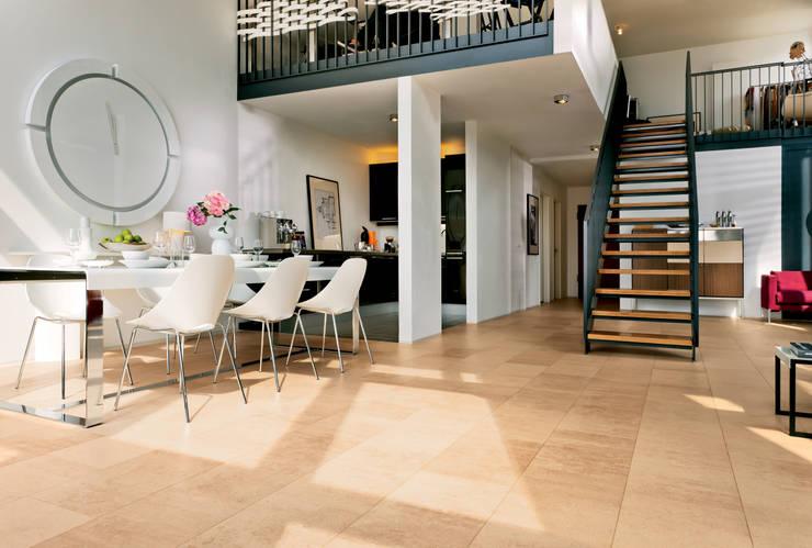 Comedores de estilo  por Hamberger Flooring GmbH & Co. KLG