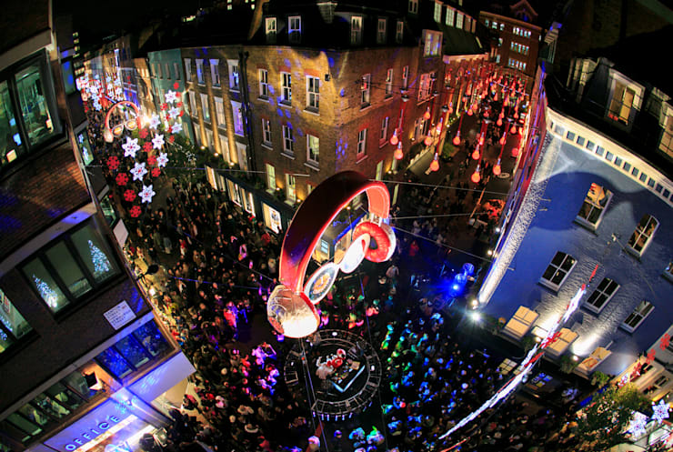 Carnaby Christmas:   by Carnaby Christmas Lights Installation