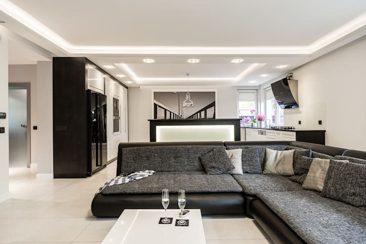 Living room by Agnieszka Makowska