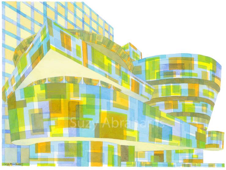 Guggenheim New York No.1:  Artwork by Suzy Abrahams
