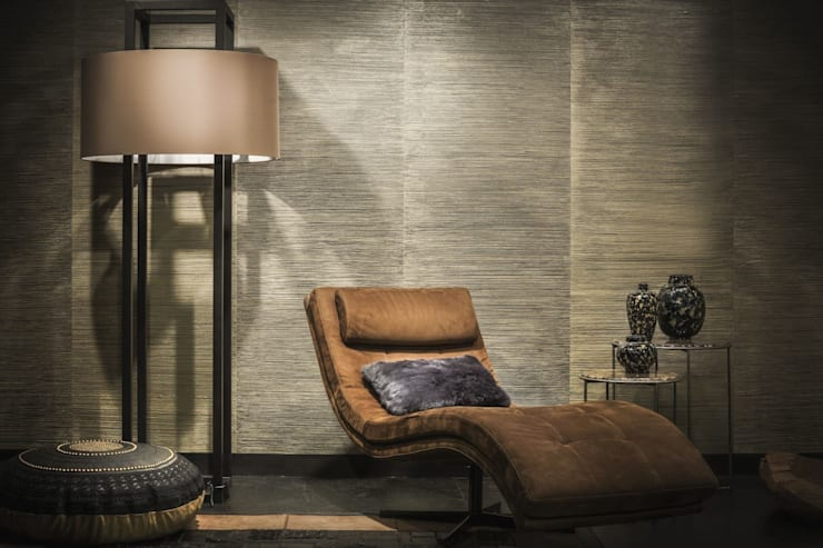 La Scala Hand Made Plaster Wallcovering:  Walls & flooring by Architectural Textiles Ltd