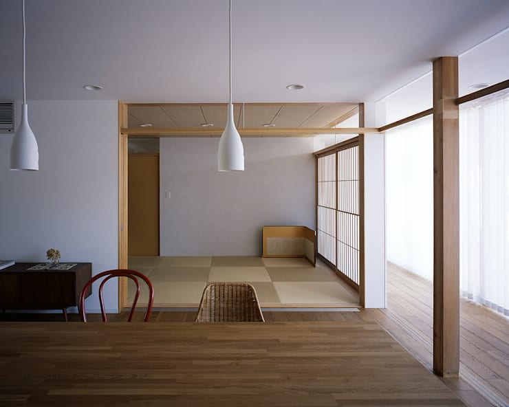 Media room by 俵・小畠建築設計事務所  / Tawara・Obatake Architect & Associates