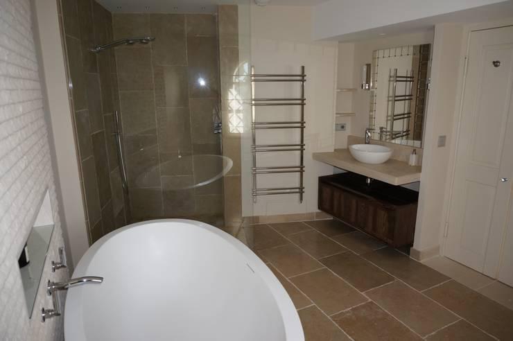 Master Bathroom France:  Bathroom by Rachel Angel Design