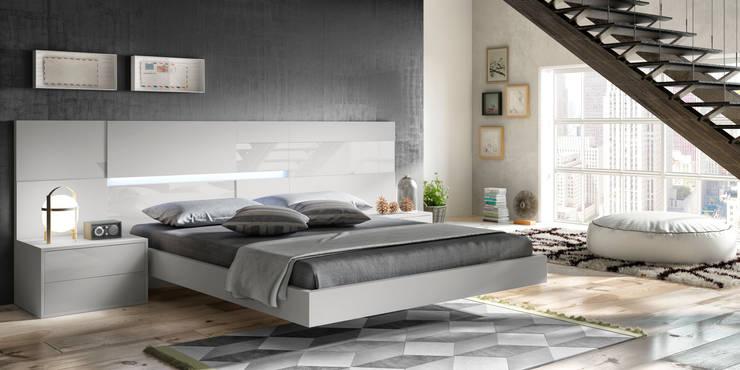 Dive-In: Dormitorios de estilo  de MOBLEC, S.L