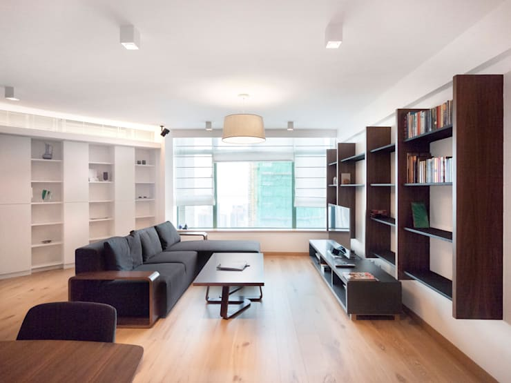 Robinson Place Apartment:   by Boutique Design Limited