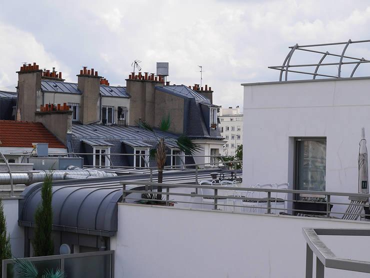 Tolbiac: Terrasse de style  par Agence Diot-Clément