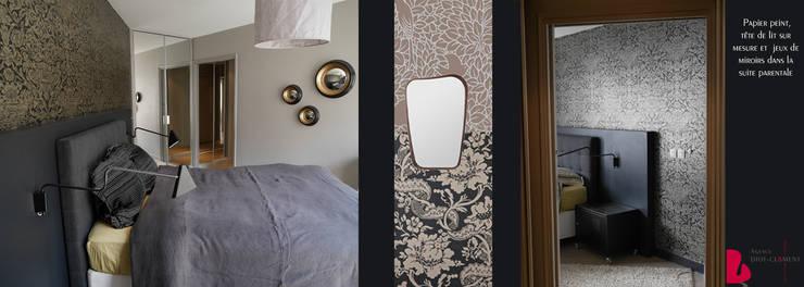 Tolbiac: Chambre de style  par Agence Diot-Clément