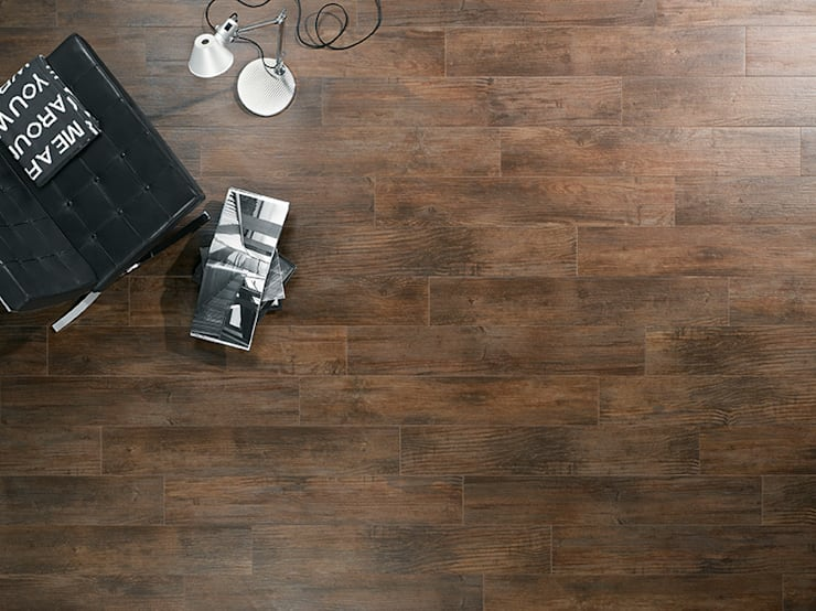 Parede e piso  por Steuler-Fliesen GmbH