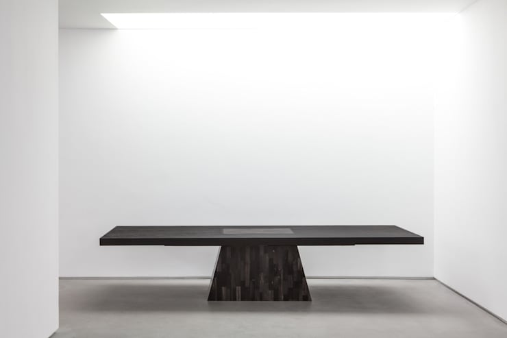 Rick Owens—Plug Table (petrified wood):   by Carpenters Workshop Gallery