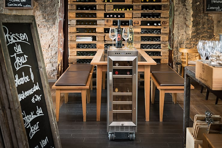 industrial Wine cellar by Skypak