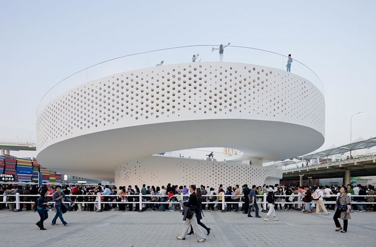 Centros de exhibiciones de estilo  por BIG-BJARKE INGELS GROUP