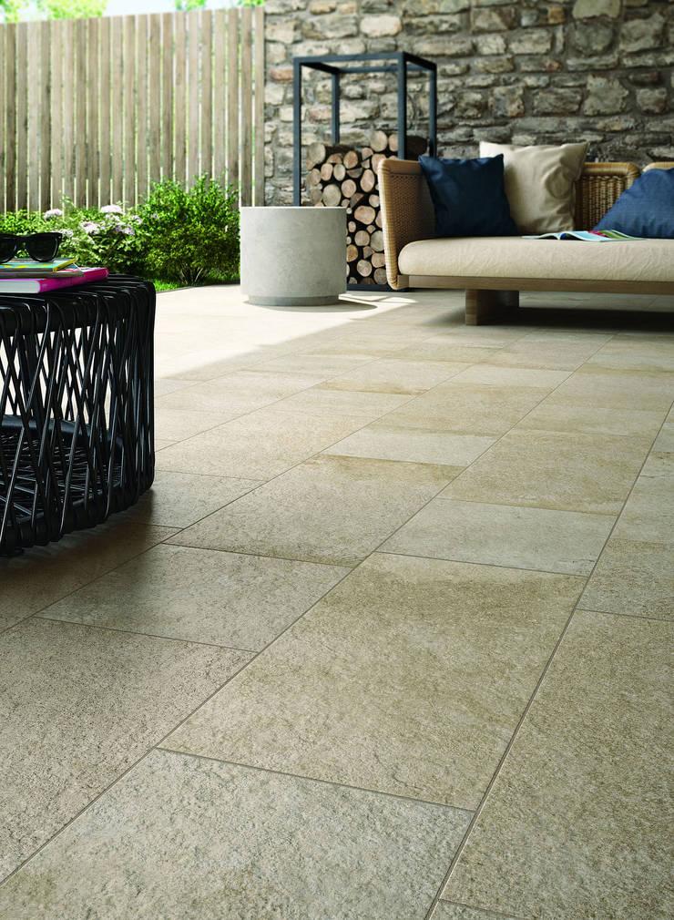 Stoneway_Porfido XT20: Pareti & Pavimenti in stile  di Ragno