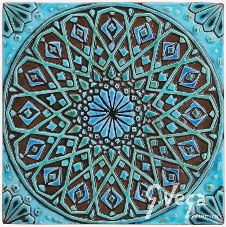 Moroccan wall art #4:  Household by Gvega Ceramica