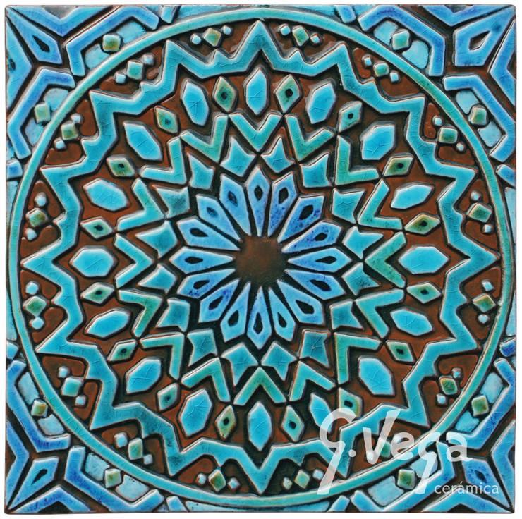 Moroccan wall art #2:  Household by Gvega Ceramica