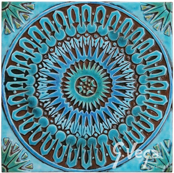 Moroccan wall art #3:  Household by Gvega Ceramica