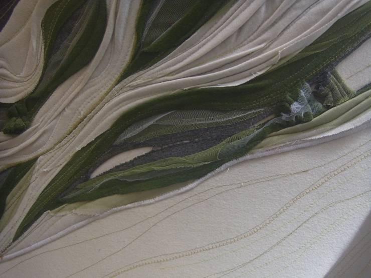 Fauteuil Vert: Salon de style  par Paola Design Textile
