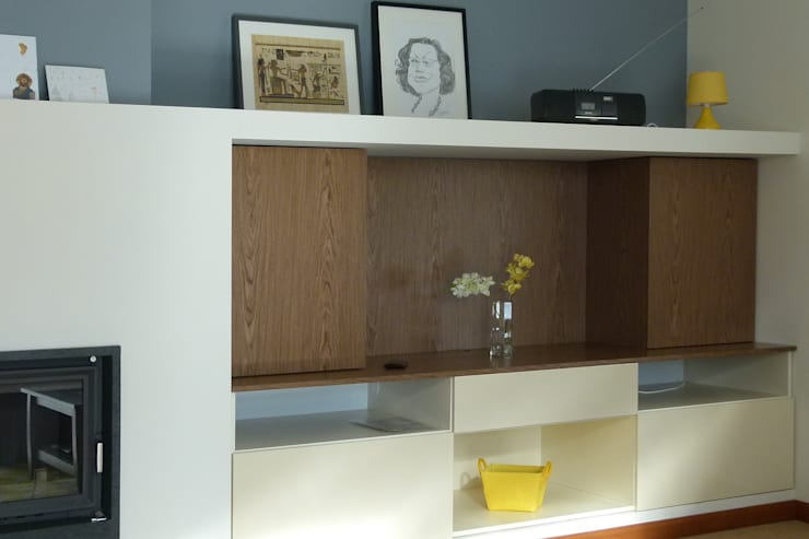 Dom dla dwojga: styl , w kategorii Salon zaprojektowany przez DO DIZAJN  Dorota Szczygłowska