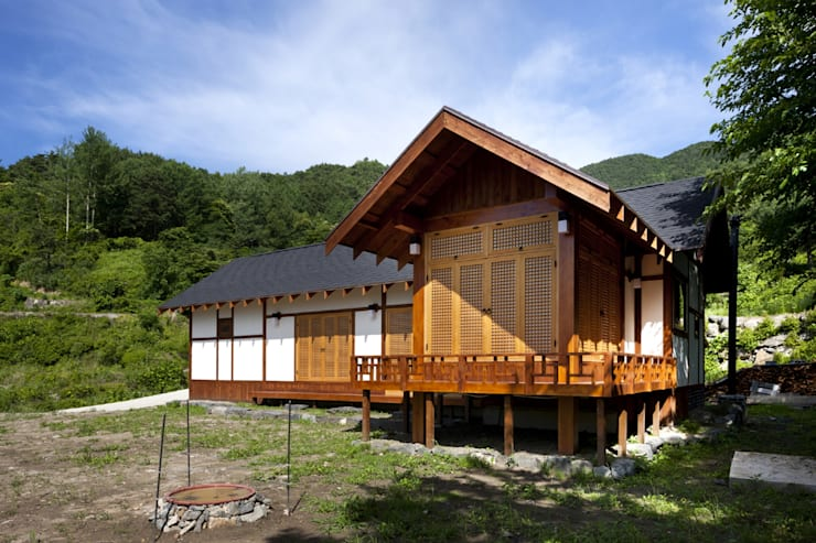 House in Macheon: studio_GAON의  주택