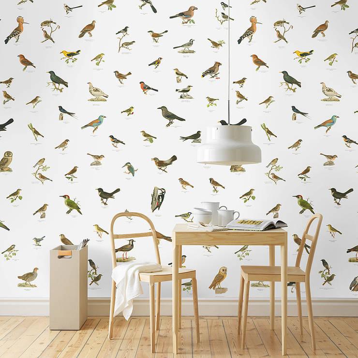 牆壁與地板 by Tapeten & Uhren