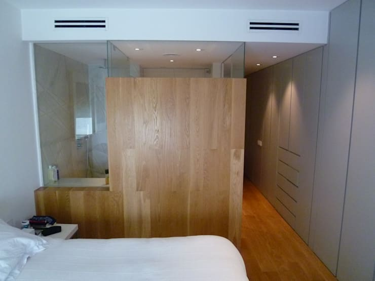 Bedroom by Maroto e Ibañez Arquitectos