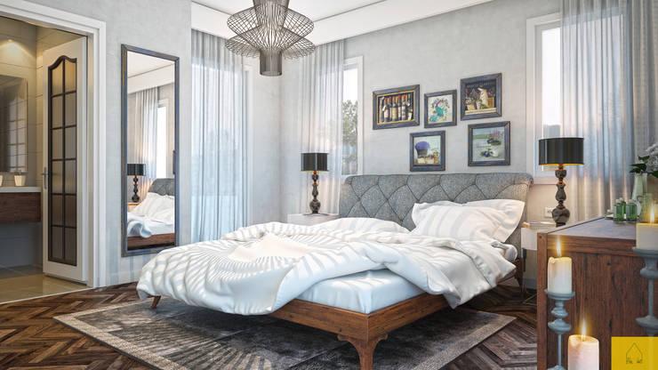 Dormitorios de estilo  por Penintdesign İç Mimarlık