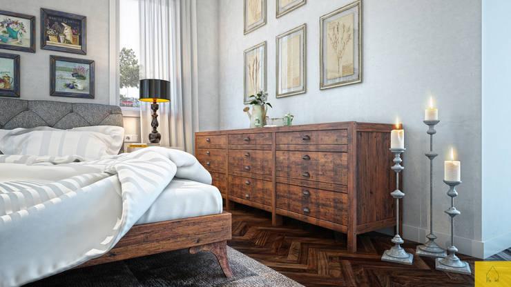 Penintdesign İç Mimarlık  – Yatak Odası Tasarımı: klasik tarz tarz Yatak Odası