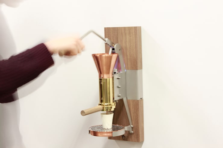 ES3 wand espressomachine:  Keuken door Strietman espresso machines