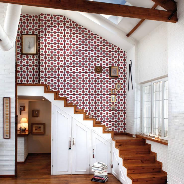 Tapete CELOSIA clay:  Wände & Boden von Tapeten & Uhren