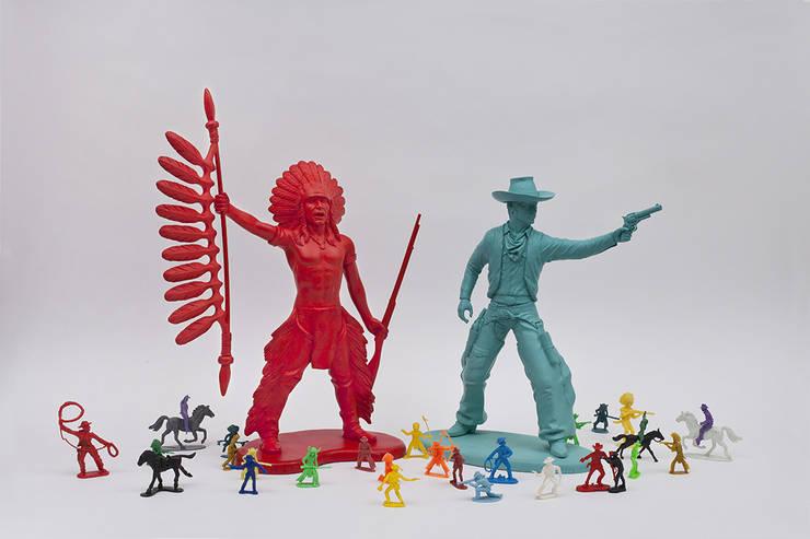 Statuettes  bang bang kid: Maison de style  par Bang Bang Kid