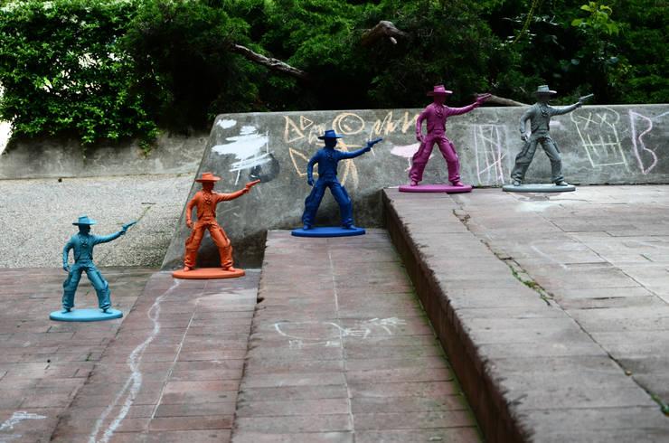 Statuettes bang bang kid Young Seven Up: Maison de style  par Bang Bang Kid