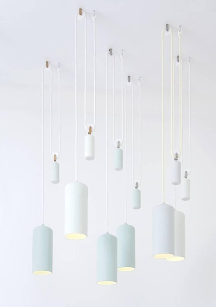 Porcelain Lamp:   door Studio WM