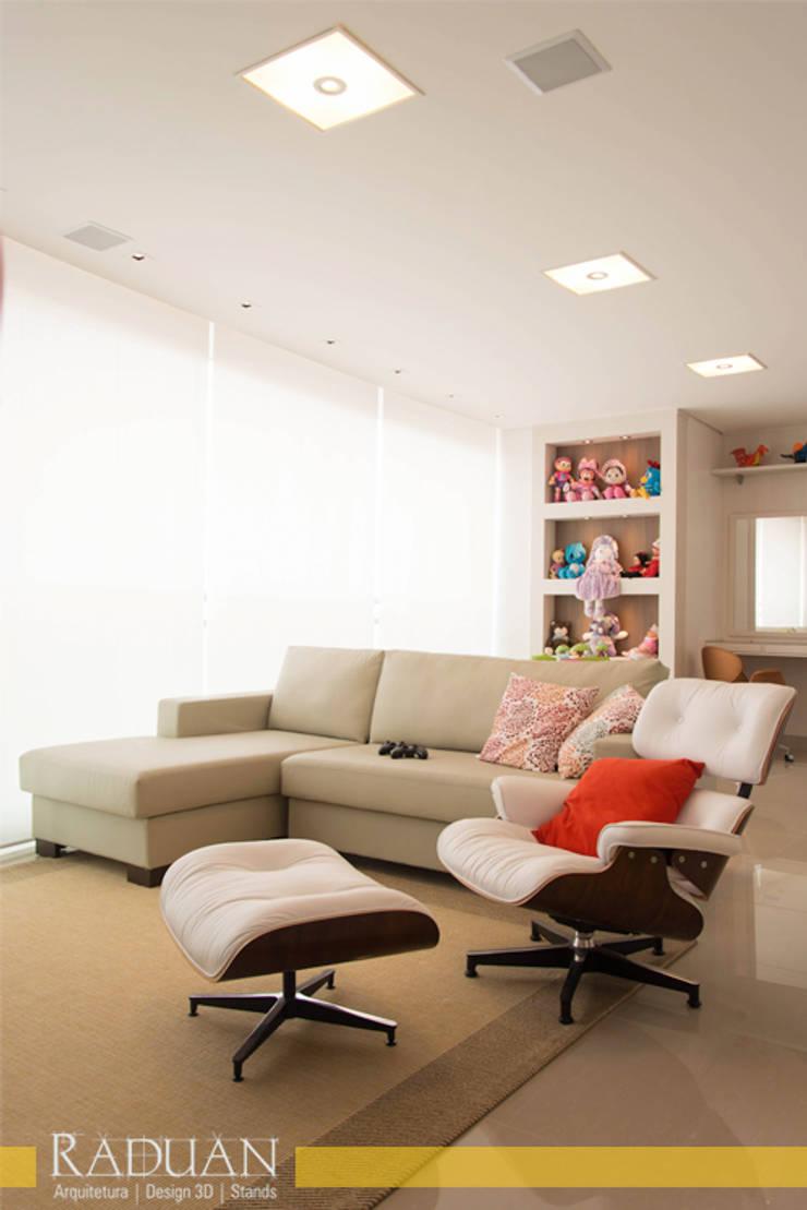 Duplex 350m² – Anália Franco:   por Raduan Arquitetura e Interiores