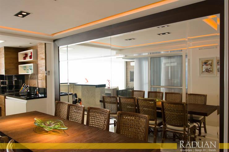 Duplex 350m² - Anália Franco:   por Raduan Arquitetura e Interiores