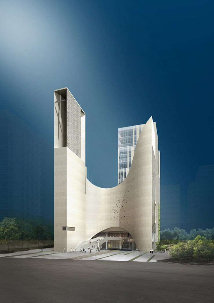 Saemoonan Church: 서인건축의