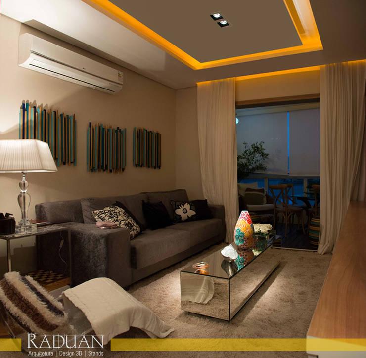 Apartamento 100 m² - Saúde:   por Raduan Arquitetura e Interiores