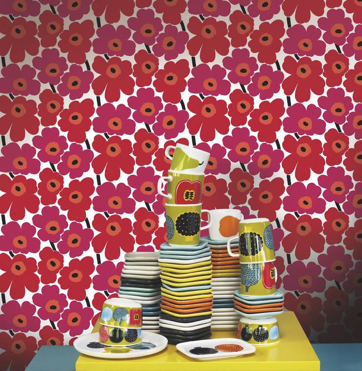 Tapetenkollektion Marimekko By Tapeten Uhren Homify