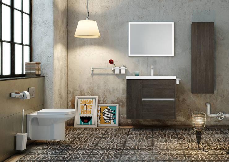 Baños de estilo  por SONIA