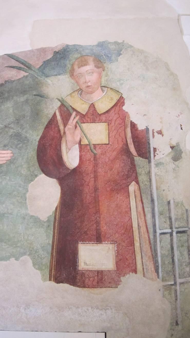 affresco scoperto nell'abside della chiesa di San lorenzo in Basci o alto:  in stile  di Maria Chiara Tonucci , Classico