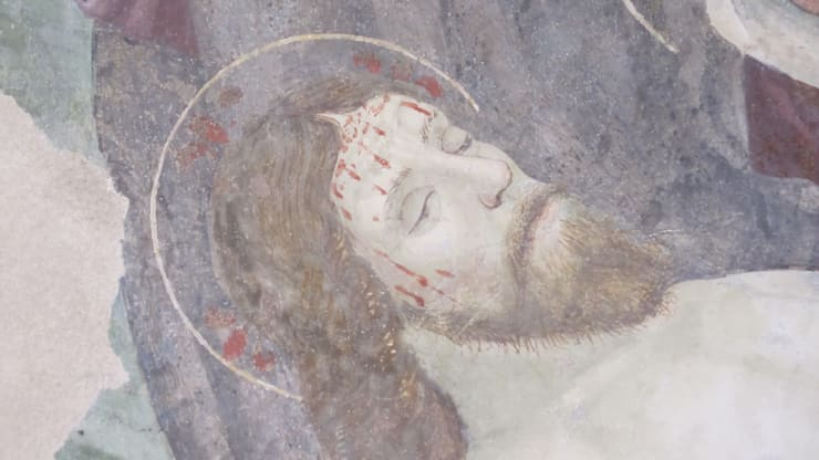 affresco Bascio alto :  in stile  di Maria Chiara Tonucci , Classico