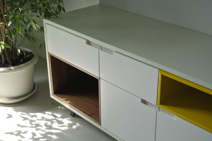 Casa OA:  in stile  di Sergio Virdis architetto, Eclettico