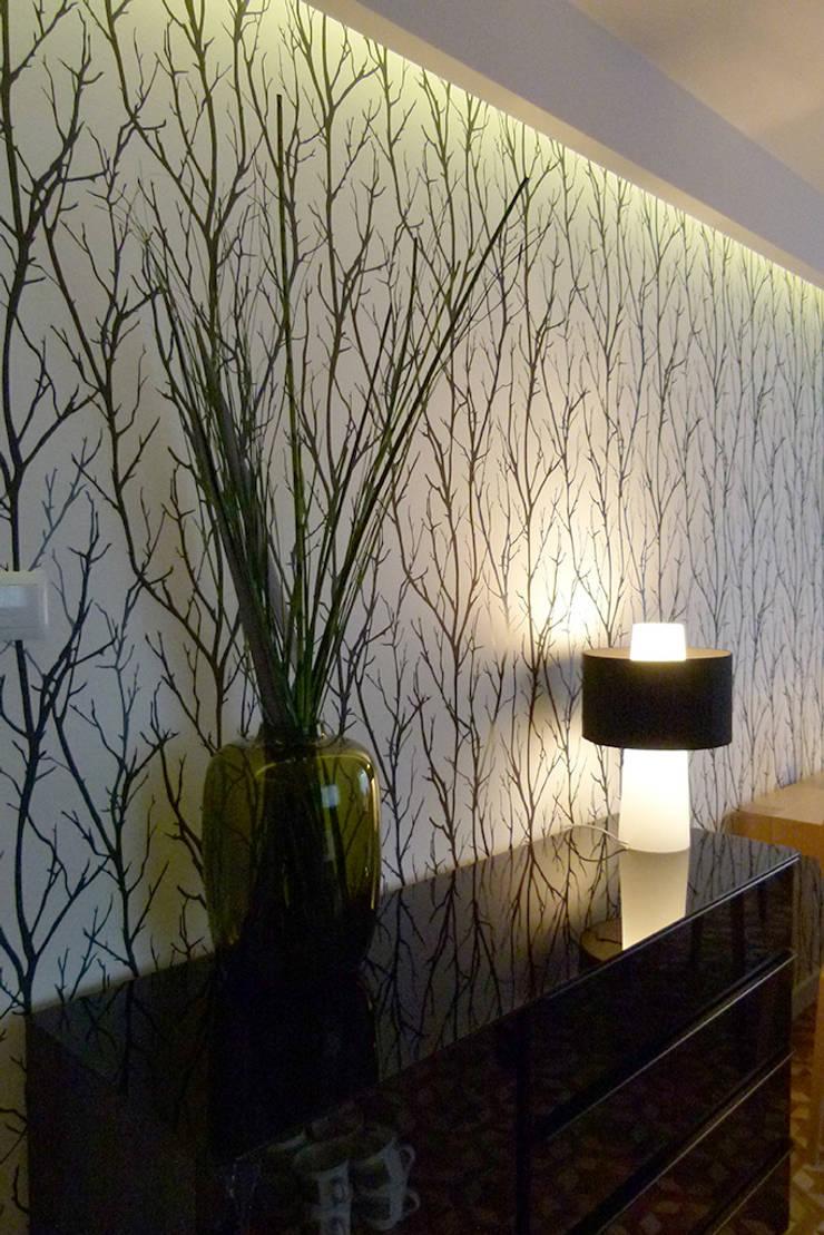 Mieszkanie po generalnym remoncie : styl , w kategorii Salon zaprojektowany przez DO DIZAJN  Dorota Szczygłowska,