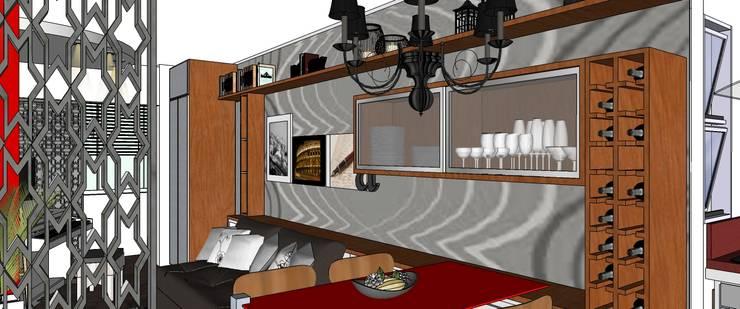 Jantar:   por Interior Design Christiano Carvalho