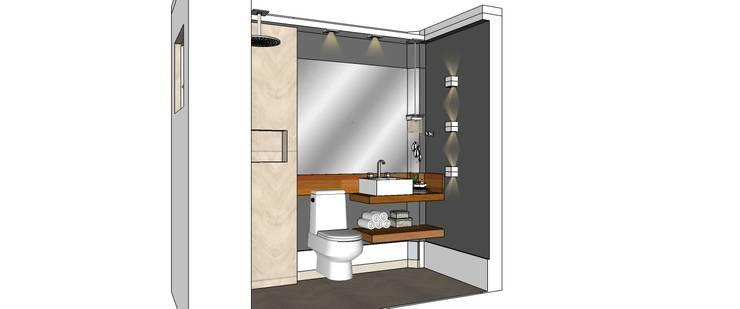 Banheiro:   por Interior Design Christiano Carvalho