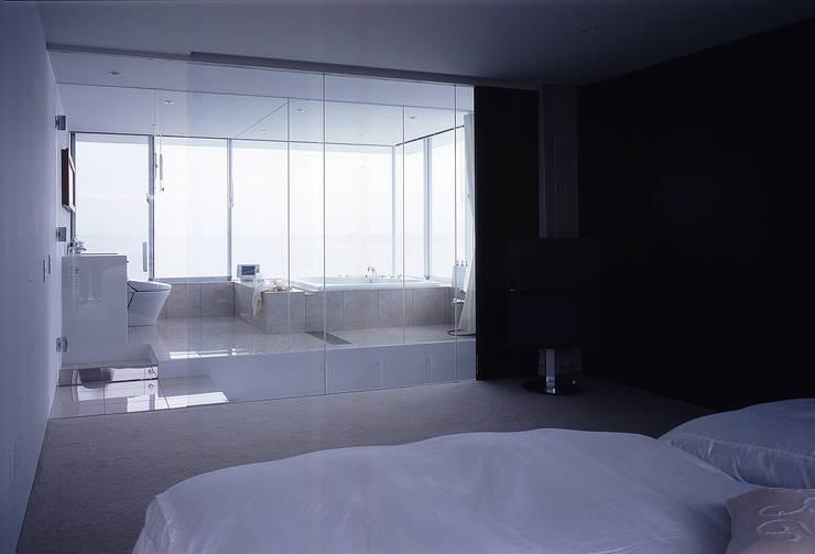 modern Bathroom by 株式会社仲亀清進建築事務所