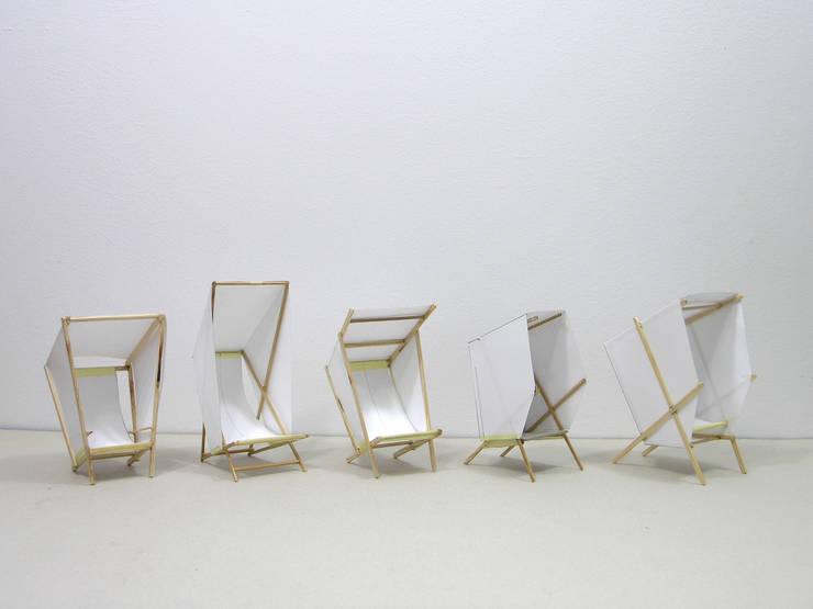 leżaki : styl , w kategorii Ogród zaprojektowany przez Jan Kochański
