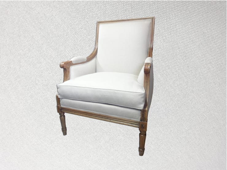 Bergère Louis XVI: Maison de style  par Aux fils du temps