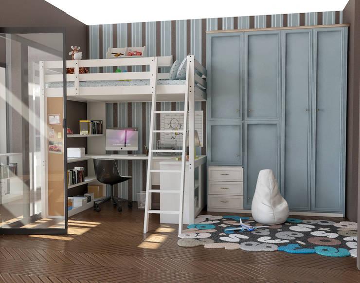 cihat özdemir – çocuk odası tasarımı:  tarz