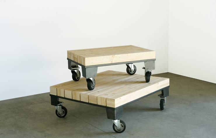 Table basse Cheminot:  de style  par Mobilier Laloue
