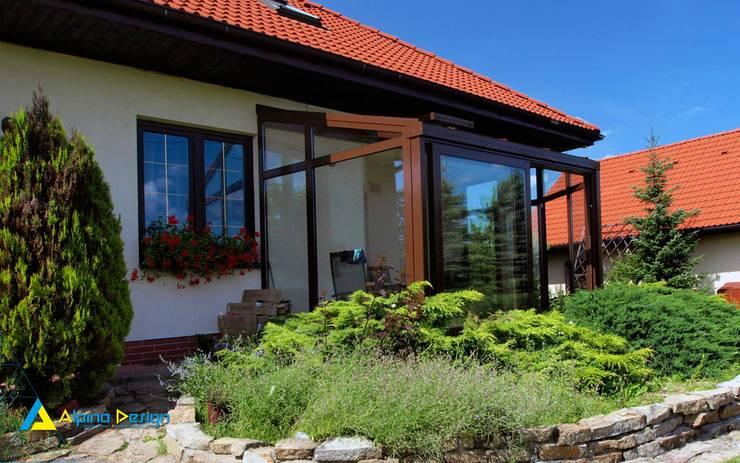 Ogród Zimowy : styl , w kategorii Domy zaprojektowany przez Alpina Design,Nowoczesny